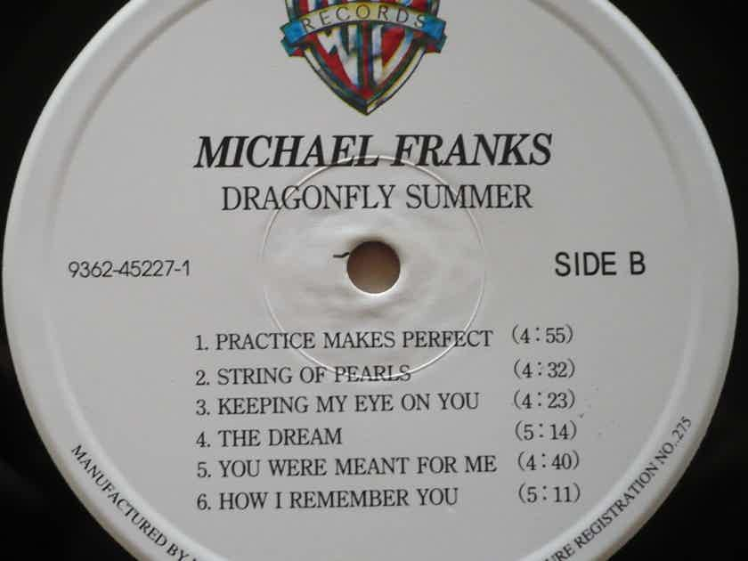 Michael Franks - Dragonfly Summer 1993. Warner Bros. Records. Warner Music Korea. South Korea.