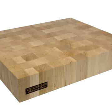 "Butcher Block Acoustics 18"" X 15"" X 3"" Maple End-Grain Platform"