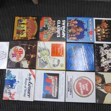 13 Box Sets,RCA/CBS,Ex Sound/Production/Condition