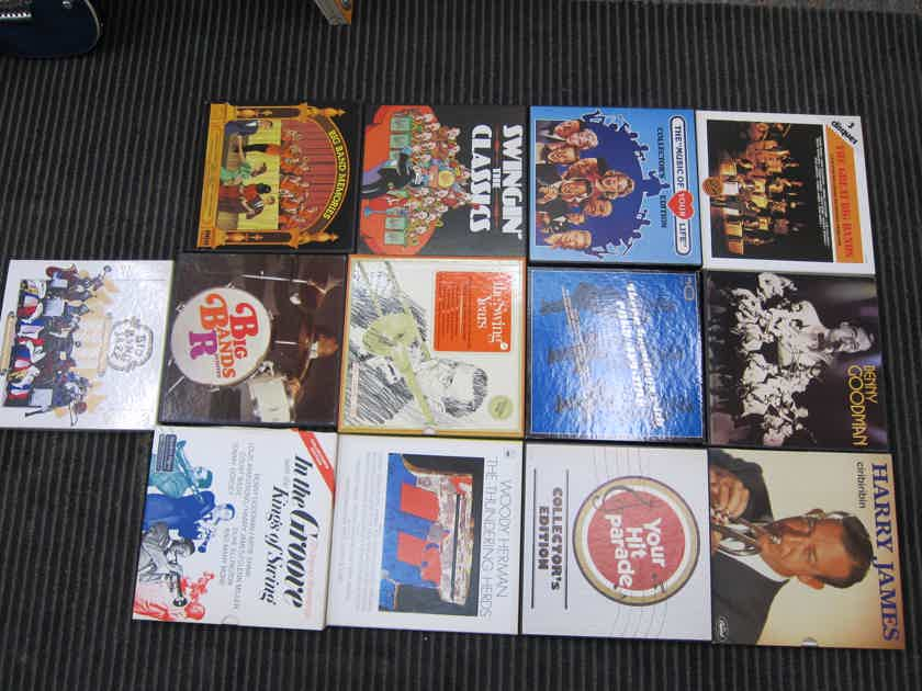 Herman, Goodman,James, Ellington,Armstrong 13 Box Sets, Various  Labels, Ex Condition, Ex Production, Ex Sound