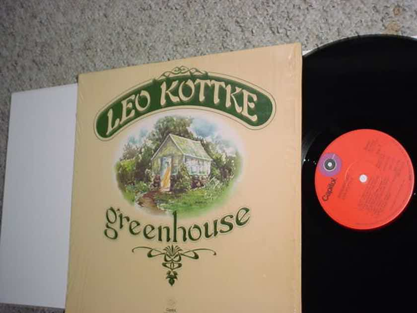 Leo Kottke greenhouse lp record in shrink