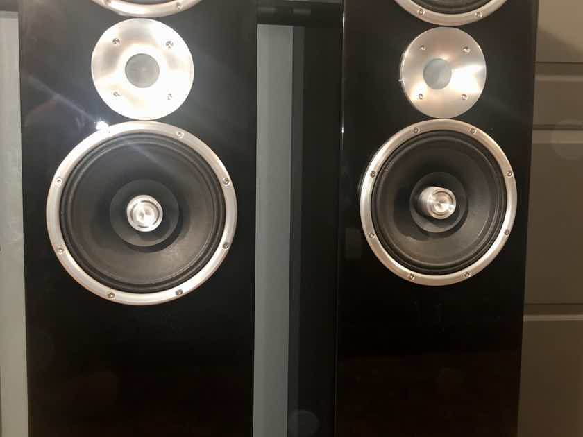 Zu Audio Definition MK IV Full range speakers in high gloss piano black