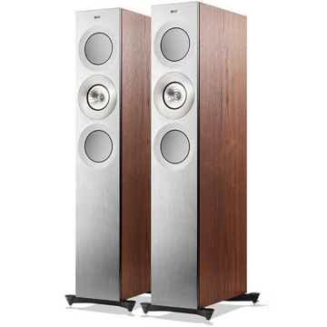KEF Reference 3 Silver Satin Walnut (Bowers & Wilkins  ...