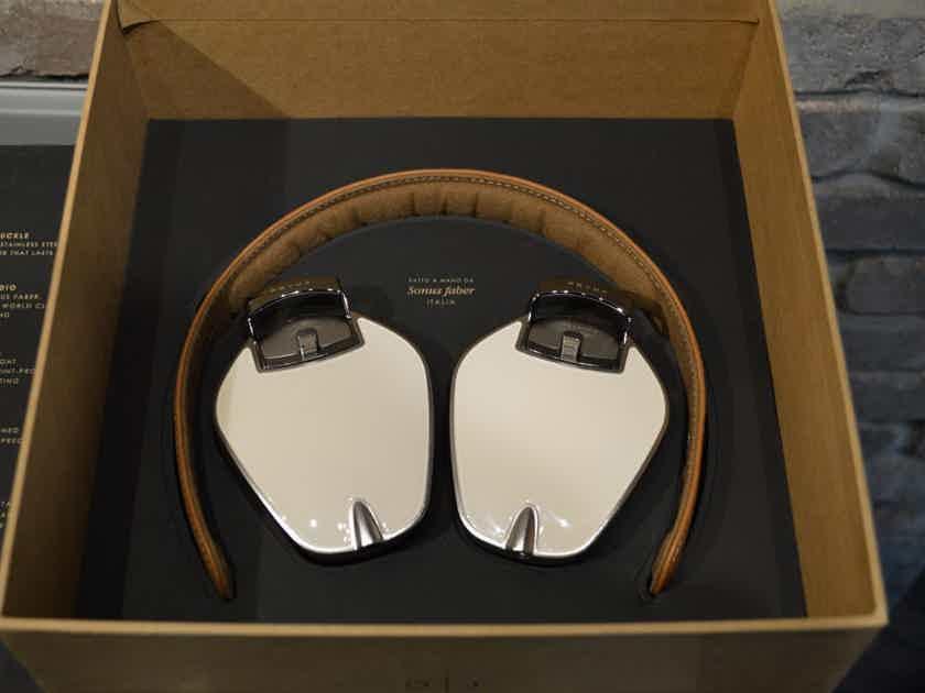 Pryma 01 Luxury Headphones by Sonus Faber - Coffee and Cream Leather