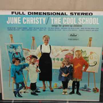 June Christy - The Cool School  Capitol STEREO first pr...