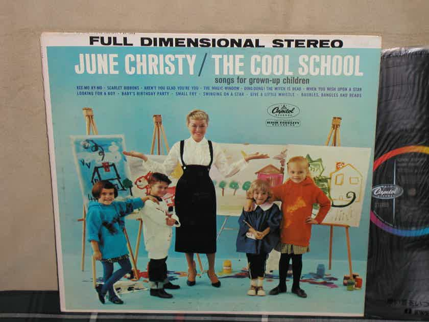 June Christy - The Cool School  Capitol STEREO first pressing ST 1398 Logo at 9:00 O'clock
