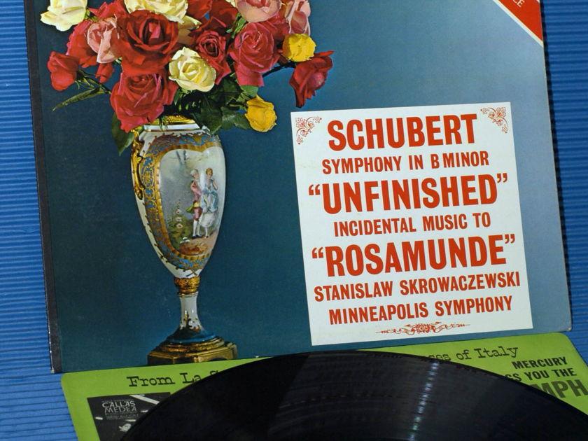 "SCHUBERT / Skrowaczewski   - ""Unfinished Symphony"" -  Mercury Living Presence 1960s early pressing"