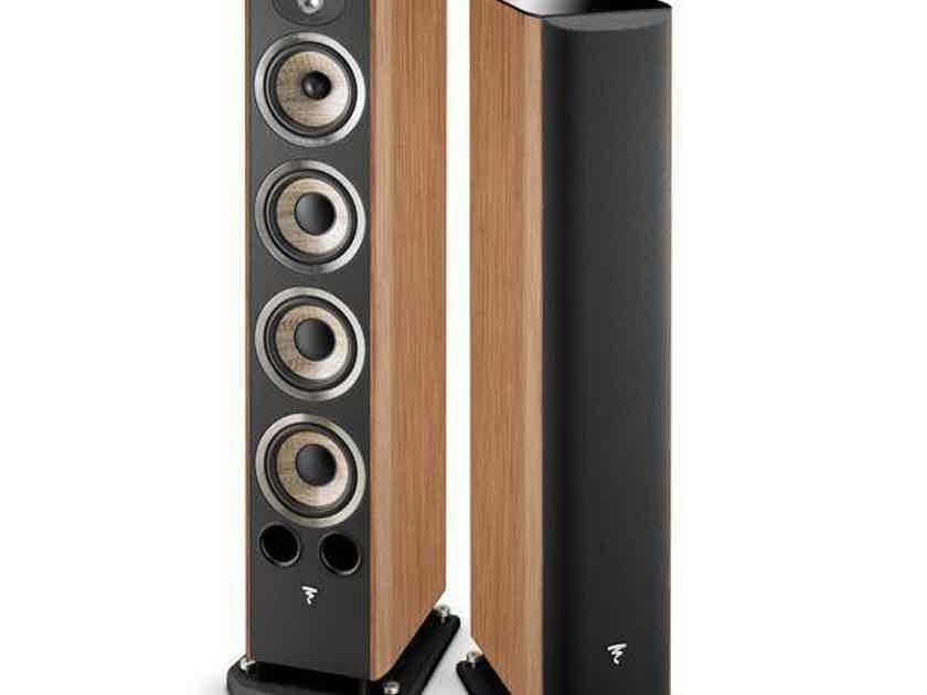 Focal Aria 936 Floorstanding Speakers; Prime Walnut Pair (1/3) (26664)