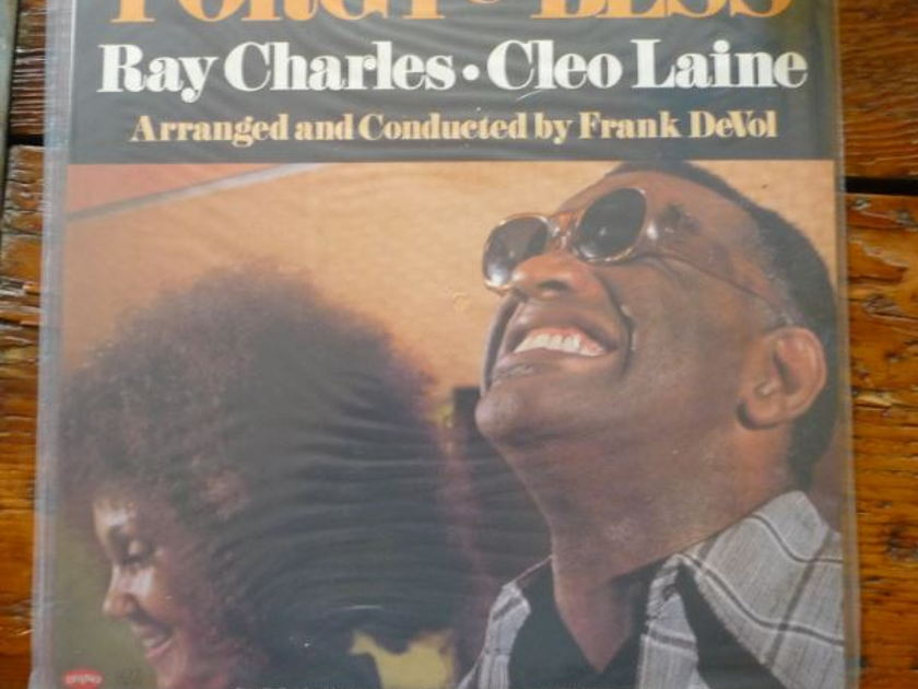 Ray Charles and Cleo Laine - Porgy & Bess  Classic Records original reissue 180G 1990's Sealed