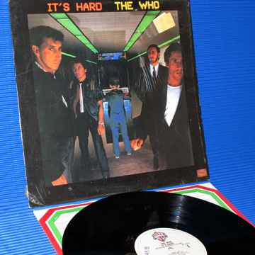 "THE WHO  - ""It's Hard"" -  Warner Bros. 1982"