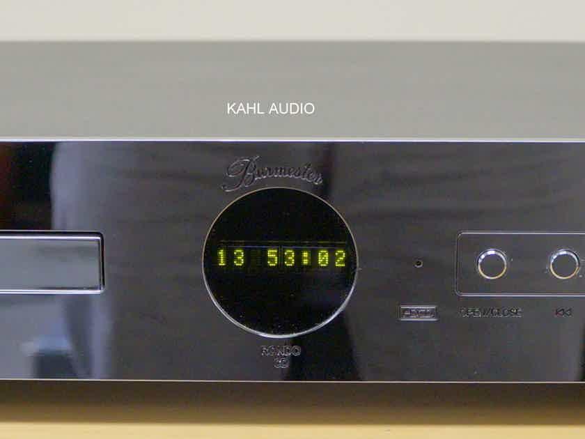Burmester 922 Rondo CD player. Affordable high end! NEW Laser!  $3,700 MSRP