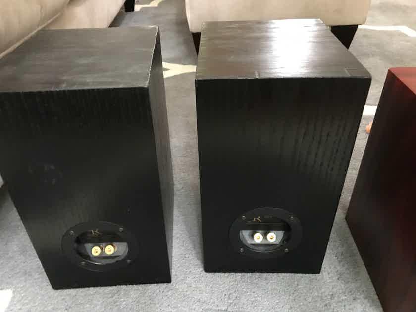 GR Research N1 kit speaker Planar Tweeter Bookshelf Speakers CUSTOM Black Stain