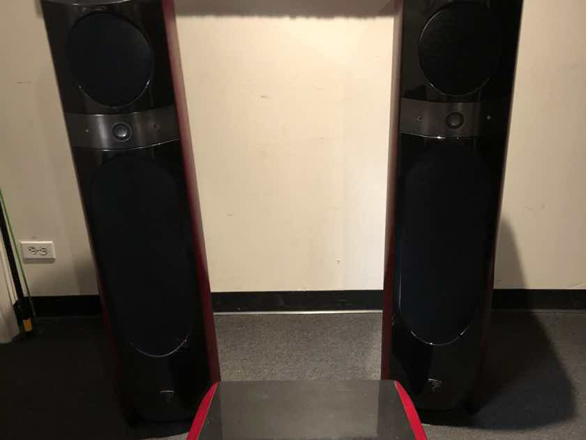 Focal Electra 1037be with matching center 15K retail!!!!!!!!