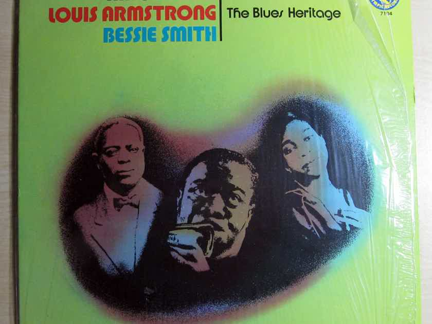 King Oliver / Louis Armstrong / Bessie Smith - The Blues Heritage - 1973 Olympic Records 7104