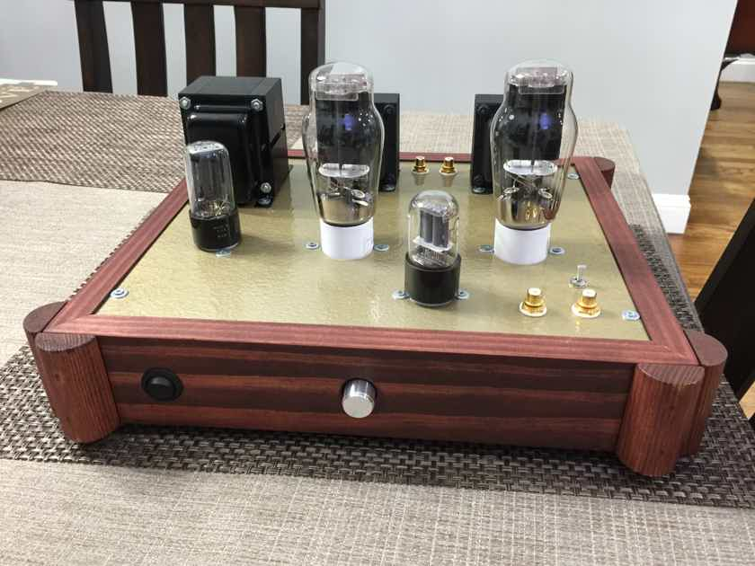 2A3 45 SE Stereo Tube Amp Singled Ended hand built Amplifier 6SL7 5U4