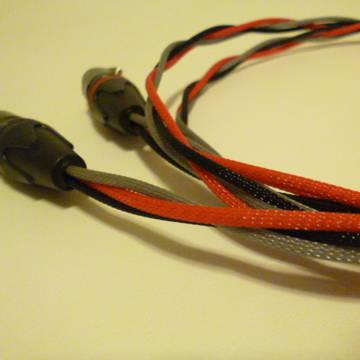 Schmitt Custom Audio Cables WE Solid 24g Black Gold
