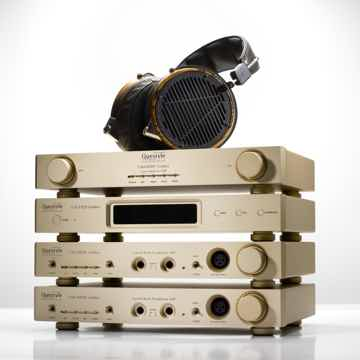 Questyle Gold Stack Headphone System
