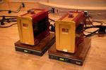 amps sitting on Taiko Tana active isolation platforms