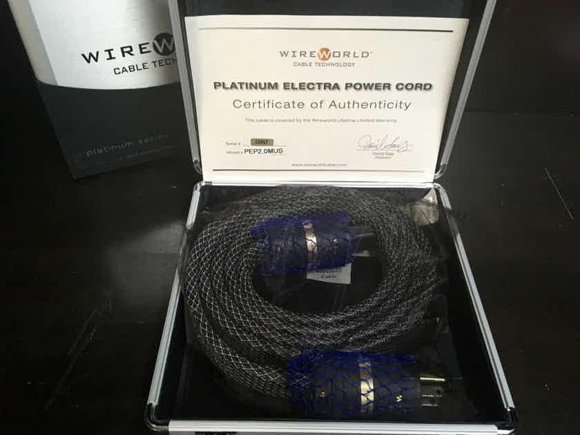 Wireworld Platinum Electra 7