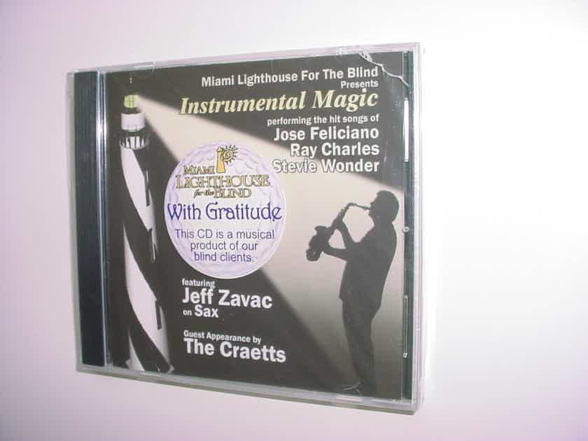 Sealed CD Miami lighthouse for the blind Instrumental magic Feliciano Charles Wonder