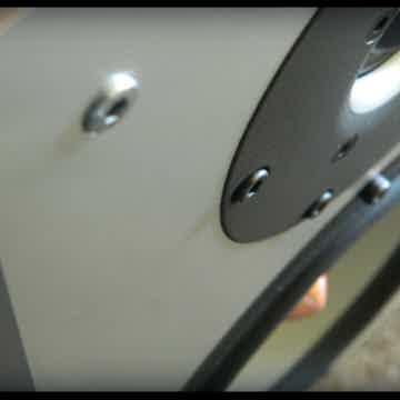 """(1"""" brushed alluminium baffle)"""