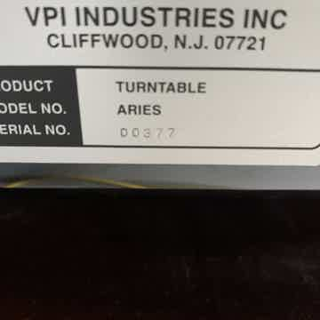 VPI Industries Aries JMW