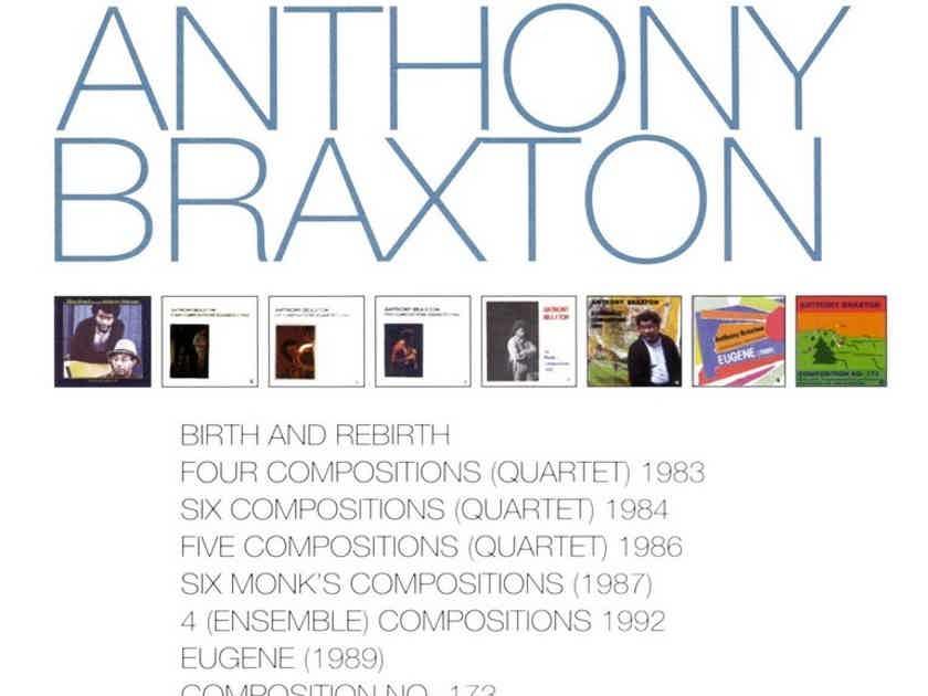 Anthony Braxton - Complete Remastered on Black Saint & Soul Note Box Set