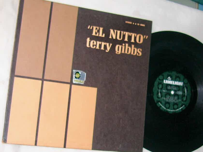 TERRY GIBBS - EL NUTTO - - RARE ORIG 1964 JAZZ LP - LIMELIGHT LS 86005 GATEFOLD