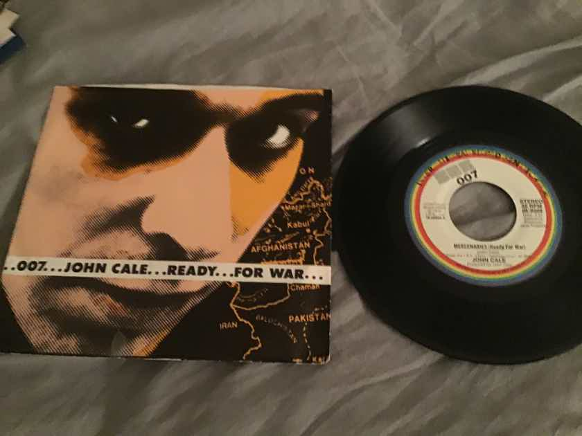 John Cale Mercenaies 45 With Picture Sleeve