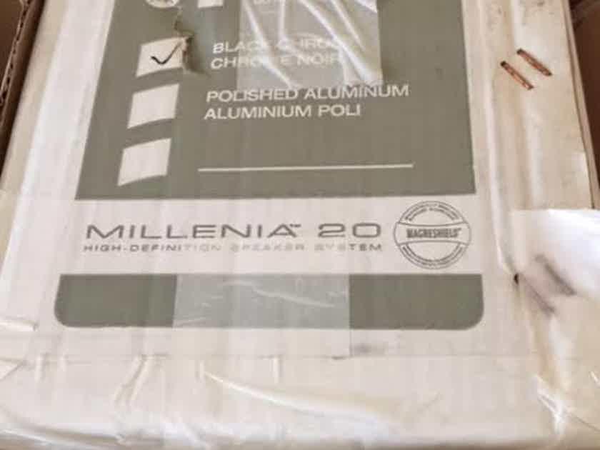 Paradigm Milenia 20 LCR single, black chrome