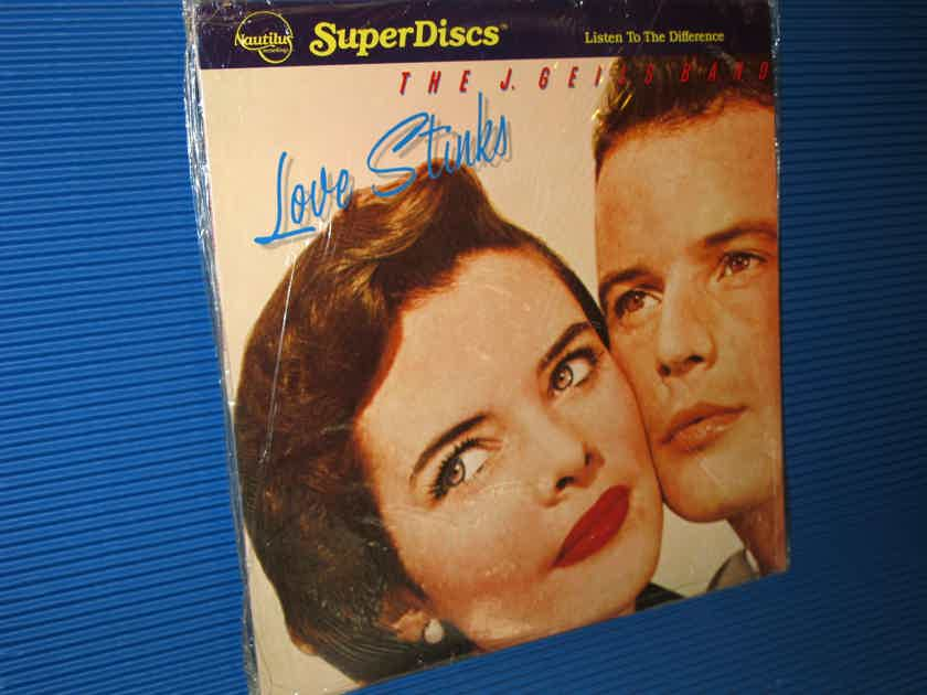 "THE J. GEILS BAND  - ""Love Stinks"" - Nautilus Super Discs 1982 SEALED!"