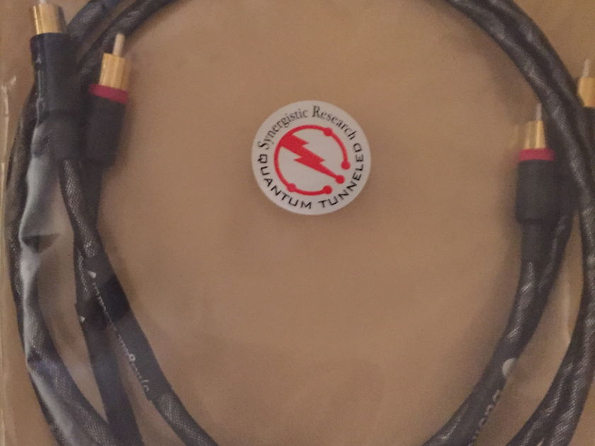 Synergistic Research Basik RCA 1 Meter Amazing Bargain Cables