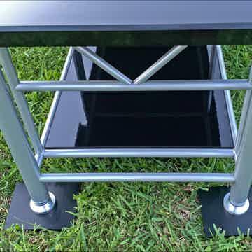 "high-end rack, 24"" deep for stereo or mono blocks"