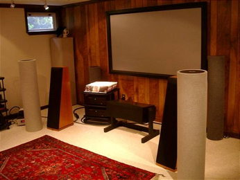 RES's Home Theater with pics