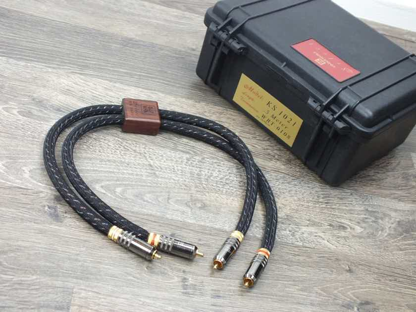 Kimber Kable KS-1021 interconnects RCA 0,5 metre