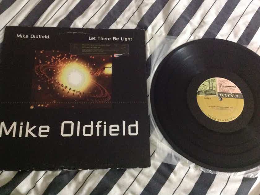 Mike Oldfield - Let There Be Light 12 Inch Single  Reprise Records Vinyl NM
