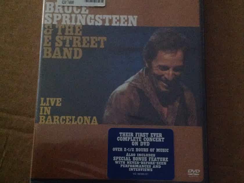 Bruce Springsteen  - Live In Barcelona Sealed DVD