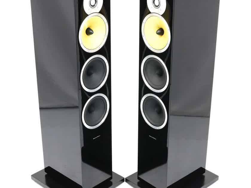 B&W CM9 Floorstanding Speakers; Gloss Black Pair; CM-9 (28197)