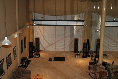 16 Foot Wide Screen at Home