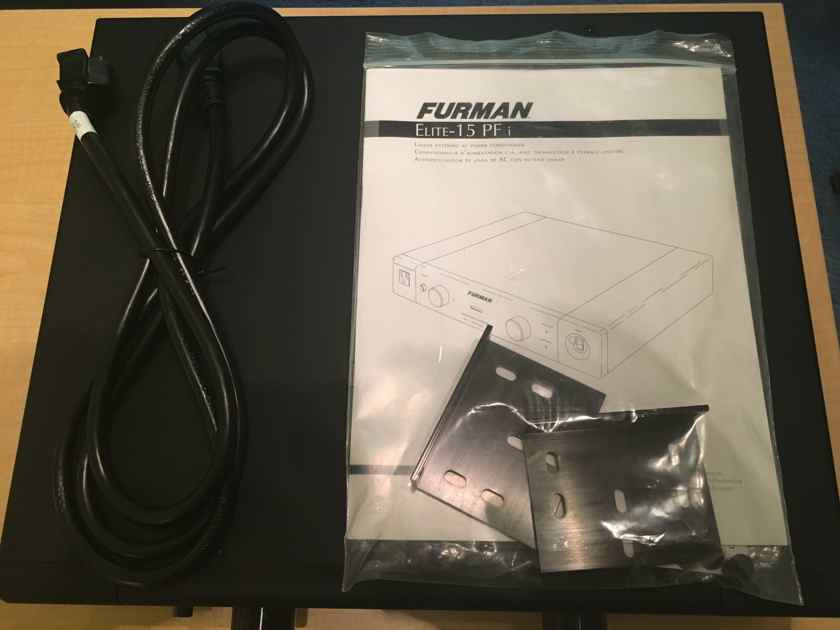 furman elite 15 pfi power line conditioner and surge protector ac conditioners audiogon. Black Bedroom Furniture Sets. Home Design Ideas