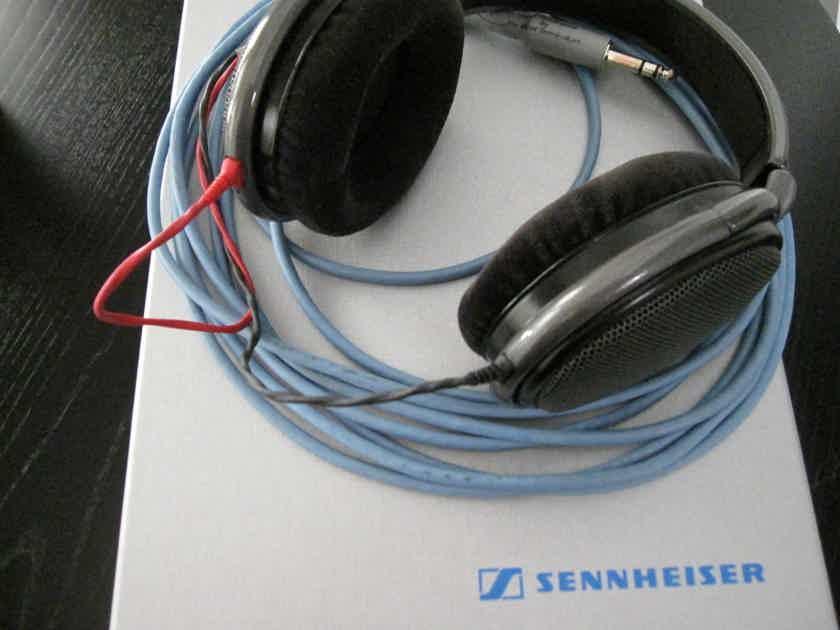 Sennheiser HD-650 with 20-ft Cardas headphone cable.