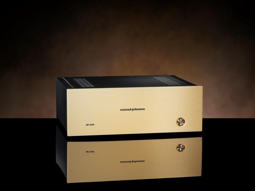 Conrad Johnson MF2550SE Brand New Solid State Power Amp Demo Unit Full CJ Warranty