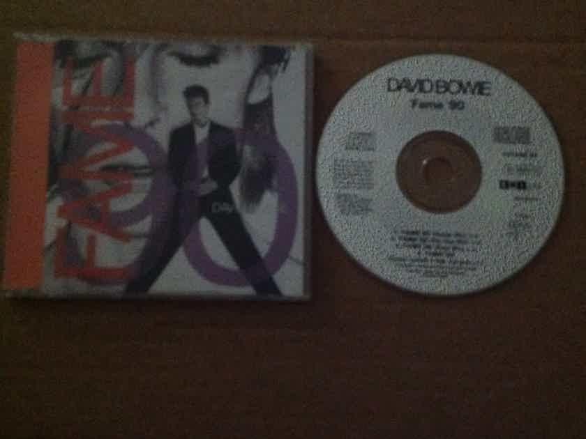 David Bowie - Fame 90 EMI Records U.K. Compact Disc 4 Track EP