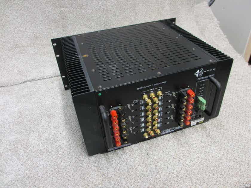 Sonance sonamp 12 chanel power amplifier 1250 MKII