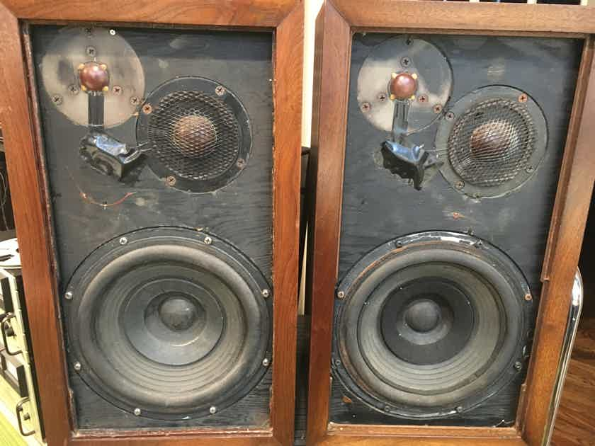 Acoustic Research AR-3 Vintage Speakers, Untouched and All Original, Holy Grail Spk