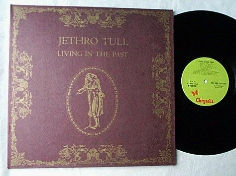 JETHRO TULL 2 LP set--LIVING IN THE PAST-