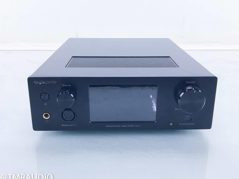 Oppo HA-1 Balanced Headphone Amplifier / DAC USB; Bluetooth; HA1 (16341)