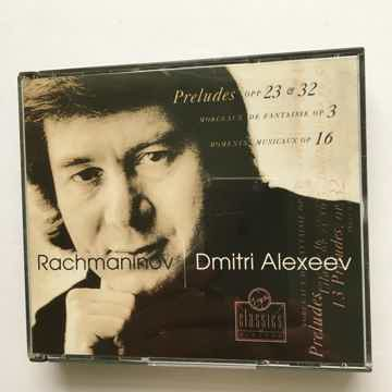 Rachmaninoff Dmitri Alexeev  Preludes opp 23 & 32 cd set 1993 Virgin classics