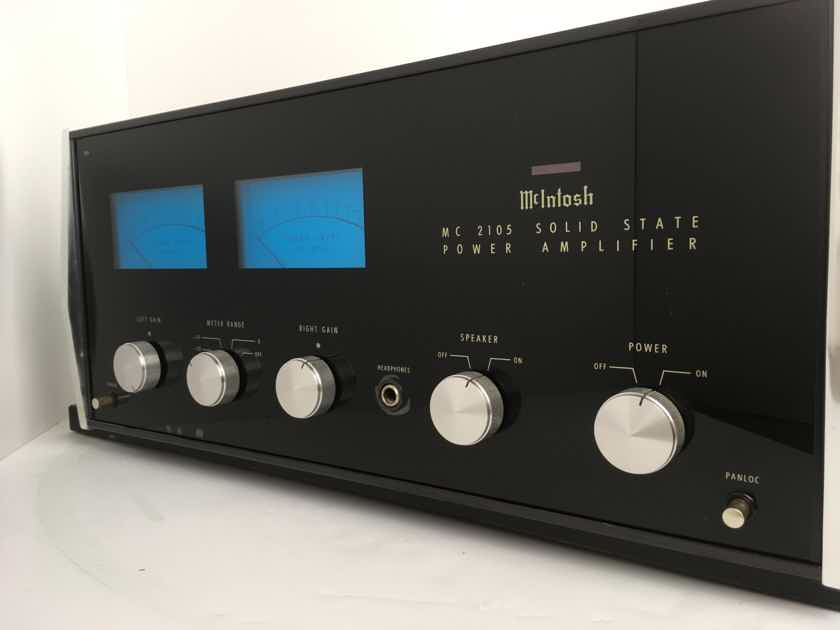 McIntosh MC-2105 105W Amplifier, Gorgeous Classic