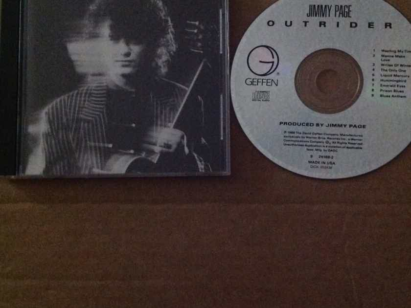 Jimmy Page - Outrider Geffen Records Compact Disc  Robert Plant One Track